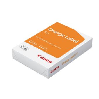Papir Orange label